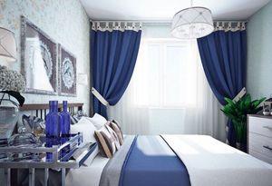 Особенности дизайна штор для спальни